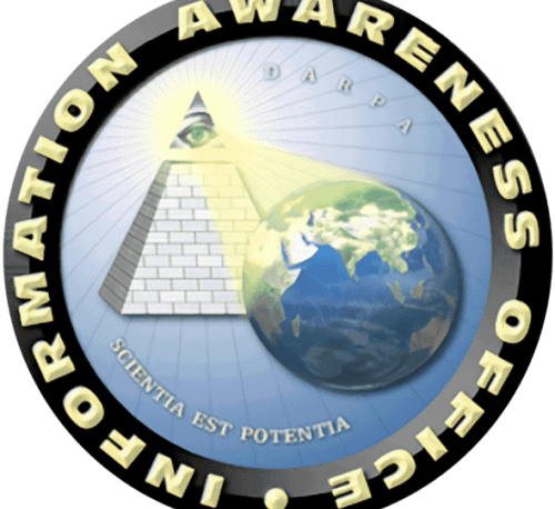 DARPA  Total Information Awareness Logo | Illuminati New World Order Surveillance State