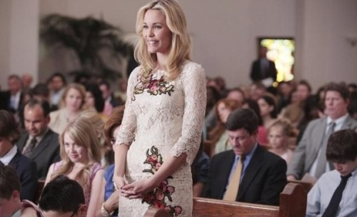 GCB Amanda in church | GCB Satanic Blasphemy