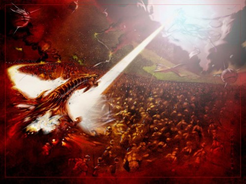 David and Goliath a Foreshadow of Armageddon | Types and Shadows in the Bible