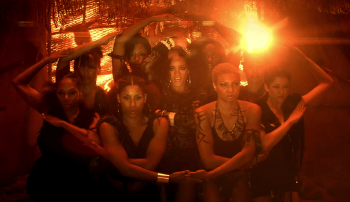 Rhianna Where Have You Been Video Eye Formation | Illuminati Symbolism