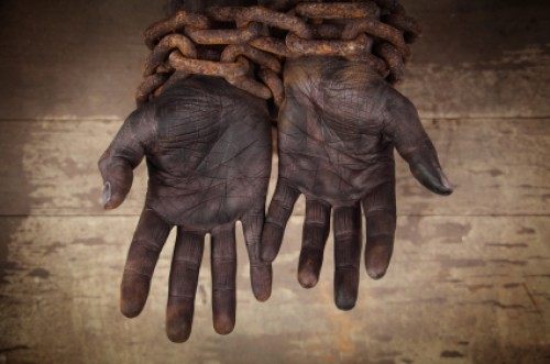 Slave Hands Chained | Slavery in the Bible. Does the Bible Condone Slavery?