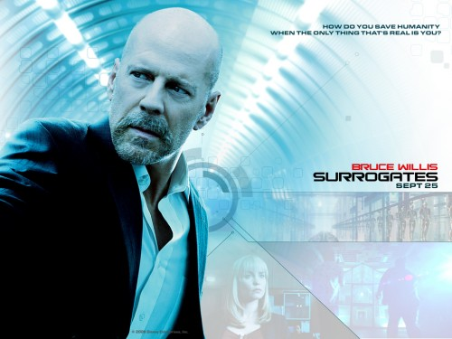 Bruce Willis Surrogates Movie Singularity | Illuminati Predictive Programming