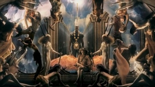 Kanye West Power Video As Above | Illuminati Symbolism