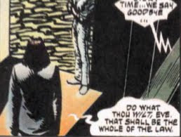 V for Vendetta Aleister Crowley Quote | Alan Moore Dark Knight Illuminati