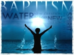Baptism Graphic | Do I have to get baptized to go to Heaven?
