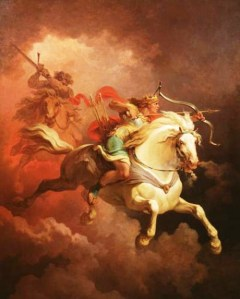White Horseman | Who are the Four Horsemen of the Apocalypse? Matthew 24 Explanation
