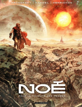 Noe Graphic Novel Cover | Russell Crown Noah Film. Bible Nephilim