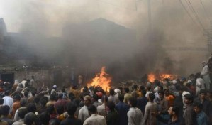 Muslim Mobs Destroy Christian Town In Pakistan