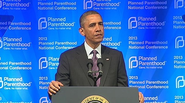 President Obama funding of Planned Parenthood