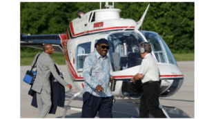 """Millionaire Pastor I.V. Hilliard Asks Church For """"$52 Favor Seed"""" To Upgrade Helicopter"""