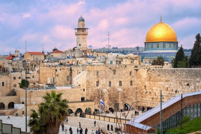 Where is the true temple location   Is the Dome of the Rock the real temple location
