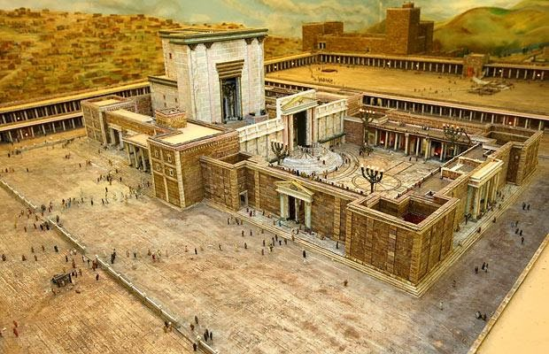 What is the true location of the Temple | Temple Mount is Fort Antonia