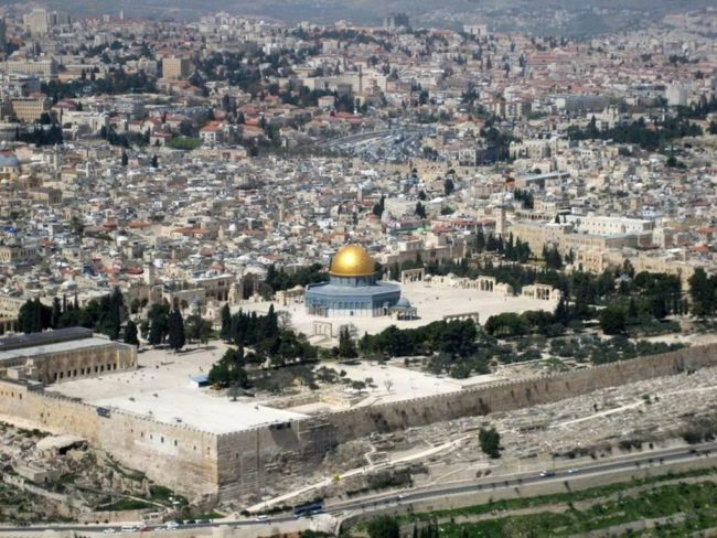 Where is the real Temple of Solomon Herod located   Third temple Antichrist End time bible propehecy
