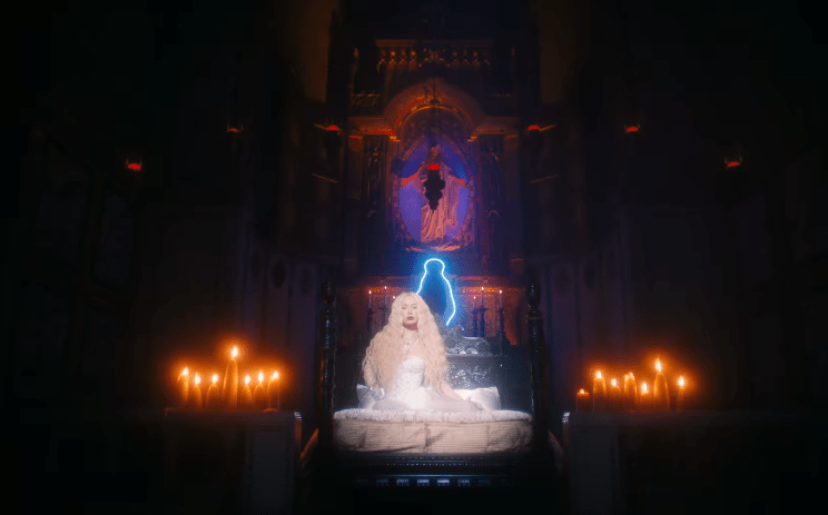 Meaning of Iggy Azalea Savior Video | Occult video with cross Roman Catholic Mary Semiramis