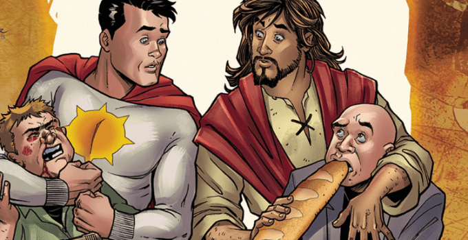 """DC Comics """"Second Coming"""" Mocks Jesus Christ And The Crucifixion"""
