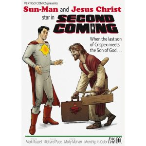 Vertigo Comics Second Coming Mocking Jesus Christ | Pop Culture War against Christianity