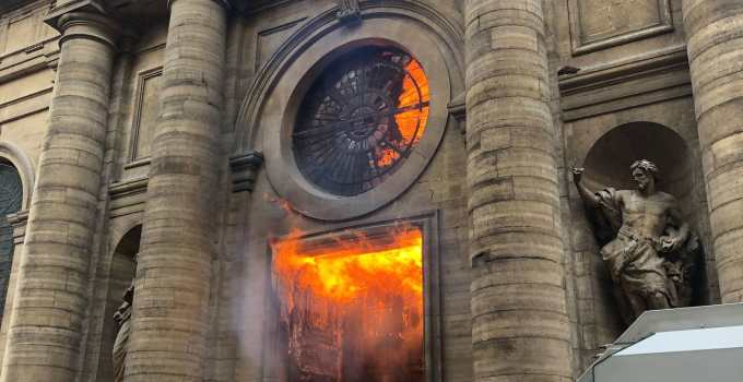 The Notre Dame Church Fire And The French War On Christianity