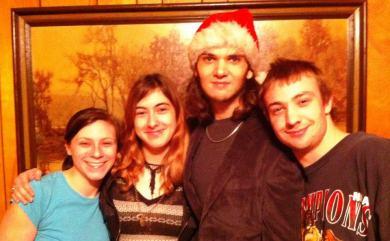 My kids Christmas 2012