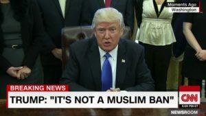 Muslim Ban Trump Christians