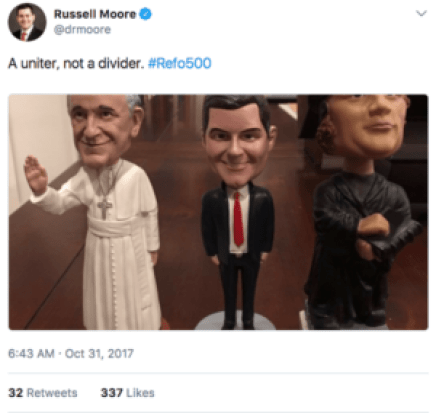 Russell Moore is ecumenical