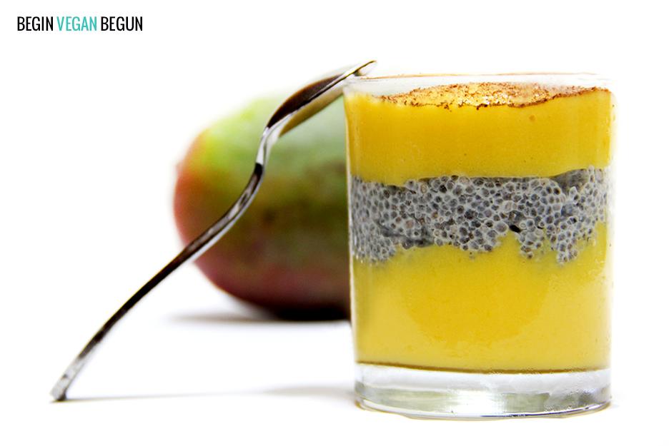 Pudin de Mango y Chía – Campo Tropical