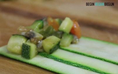enroscar canelones veganos