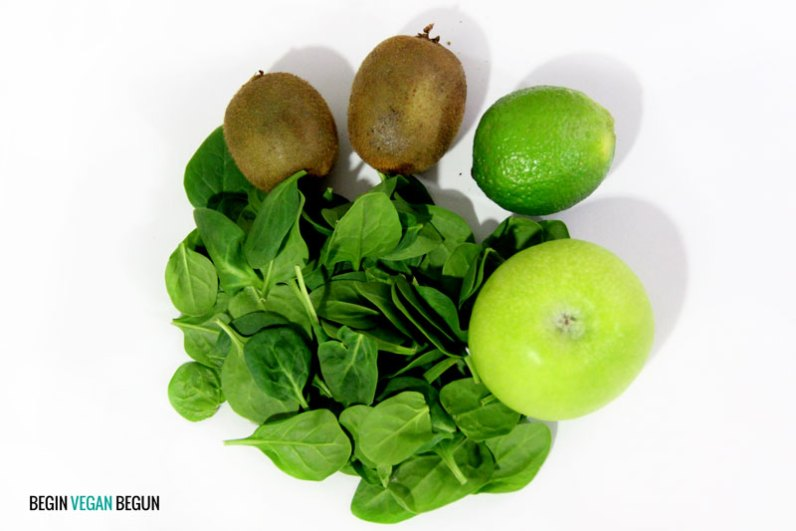 ingredientes batido verde