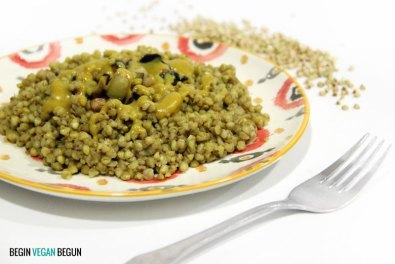 Trigo sarraceno al curry
