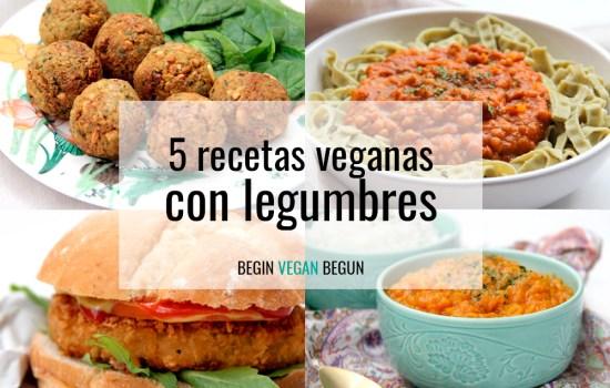5 Recetas veganas con legumbres para todo el año