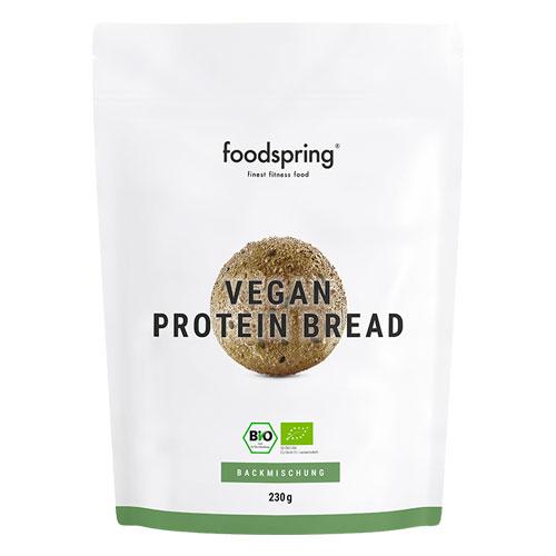 Pan proteico vegano