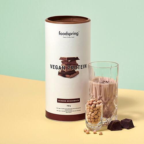 Proteína vegana de chocolate