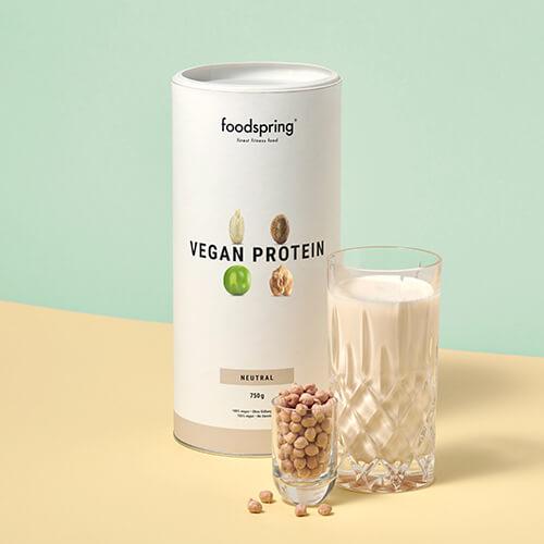 Proteína vegana neutra