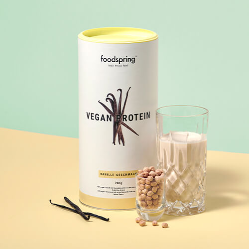 Proteína vegana de vainilla