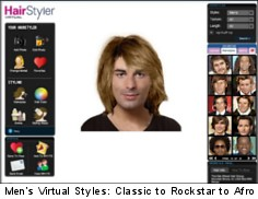 mens hair simulator | Makeupsite.co