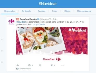 Navidear Carrefour