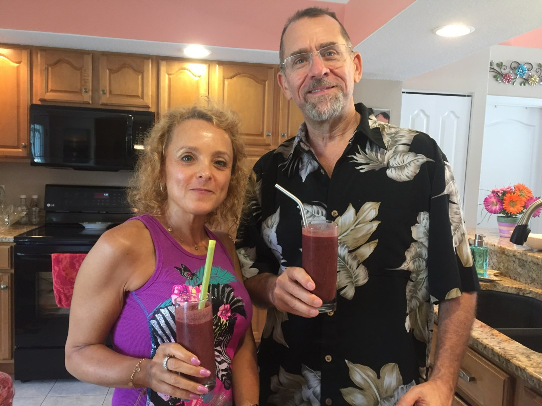 Amy and Rick Smoothie