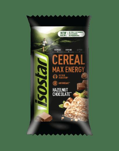 Batonėlis Cereal Max Energy Hazelnut Chocolate 55g