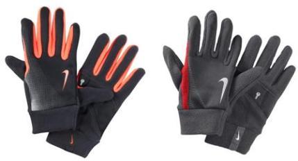 перчатки для бега зимой