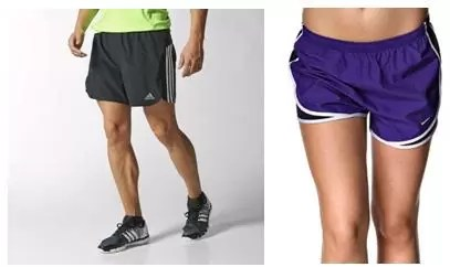 шорты для бега