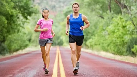 оздоровительный бег фото