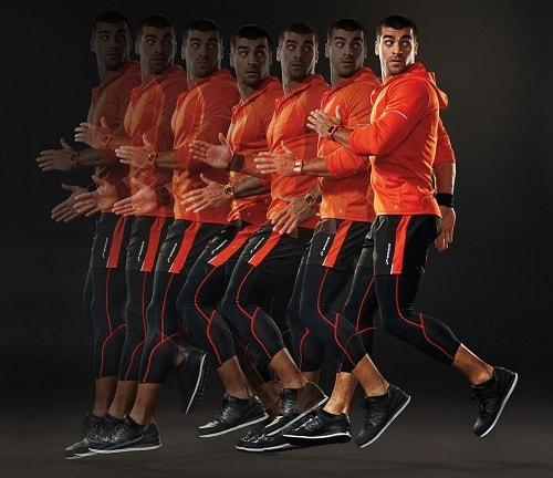бег спиной вперед
