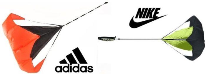 парашюты от adidas и nike