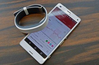 Фитнес браслет Sony Smart Band 2