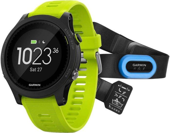 Часы Garmin Forerunner для измерения VO2 max