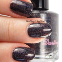 Darling Diva Polish Forced Family Fun swatch + review