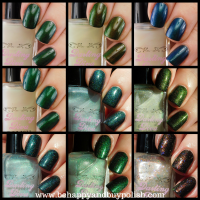 Darling Diva Polish Mythical Pee nail polish collection swatch + review