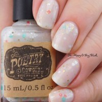 Poetry Cowgirl Nail Polish Mint to be Mine swatch + review