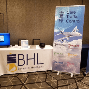 Care Traffic Control software team display in Washington D.C for a National Mental Health & Substance Abuse Conference