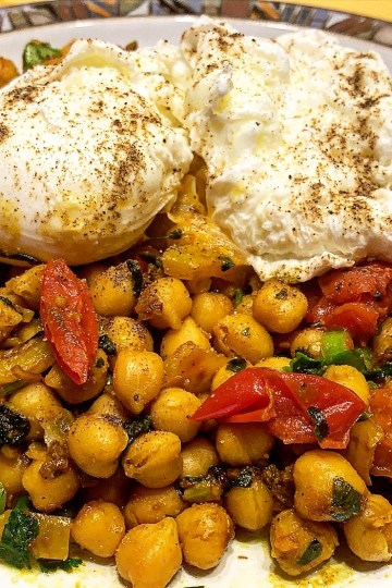 chickpea, chickpea curry, behavioural foodie