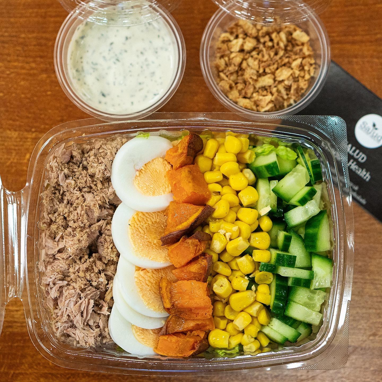 Salad Box with Salud Salads